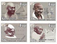 Îles Fidji - Mahatma Gandhi 150 ans - Série neuve 4v