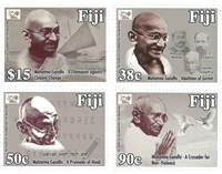 Fiji - Mahatma Gandhi 150 years - Mint set 4v