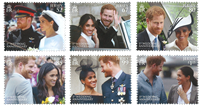 Jersey - Harry and Meghan - Mint set 6v