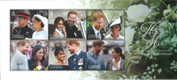 Jersey - Harry and Meghan Wedding - Mint Souvenir sheet