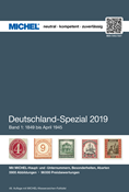 Michel Tyskland Specialkatalog I 2019 - 1849-April  1945