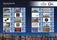 England - Stockholmia 2019 udstillingsark - Postfrisk udstillingsark