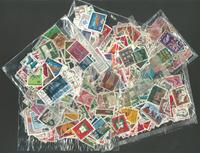 Tyskland/Canada mm. - Æske fyldt med frimærker