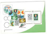Nations Unies - Collection annuelle Vienne 1980