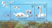Danemark - Oiseau national - Bloc-feuillet neuf
