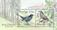 Sweden - EUROPA 2019 National Birds - Mint souvenir sheet
