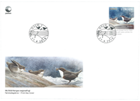 Norway - EUROPA 2019 National birds - FDC