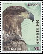Austria - EUROPA 2019 National birds - Mint stamp