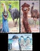Australie - Oiseaux qui ne volent pas - Série neuve 3v