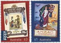 Australie - Anzac 2019 - Série neuve 2v