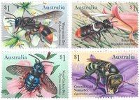 Australie - Abeilles - Série neuve 4v