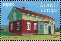 Åland - SEPAC - Gamle bygninger - Postfrisk frimærke