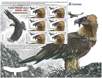 Spanien - Europa fugle - Postfrisk småark