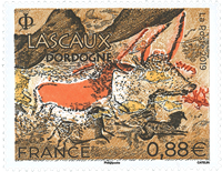 France - Lascaux - Mint stamp