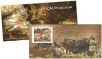 France - Lascaux - Bloc-feuillet neuf en pochette