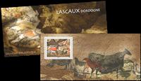 Frankrig - Lascaux - Postfrisk miniark i folder