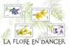 France - Fleurs menacées - Bloc-feuillet neuf