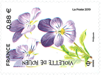 France - Fleurs menacées - Timbre neuf