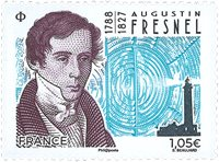 France - Augustin Fresnel - Timbre neuf