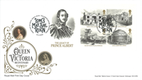 Great Britain - Queen Victoria - First Day Cover with s/s
