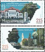 Ungarn - Byer 2019 - Postfrisk sæt 2v