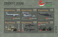 Ungarn - Zrinyi 2026 - Postfrisk miniark