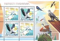 Ungarn - Europa Fugle - Postfrisk miniark