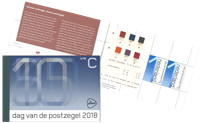 Netherlands - Day of the Stamp 2018 - Mint Prestige booklet