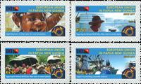 Papouasie Nlle Guinée - Partenaire avec l'UE - Série neuve 4v