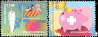 FN Wien - Sundhedsdag - Postfrisk sæt 2v