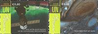 FN Wien - Rummet - Postfrisk sæt 2v