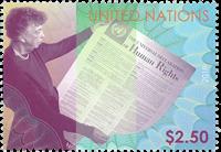 Nations Unies - Droits de l'Homme - Timbre neuf