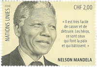Nations Unies Genève - Nelson Mandela - Timbre neuf
