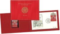 Vatican - Timbre brodé - Timbre neuf et env. 1er jour en pochette