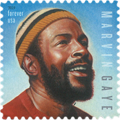 United States - Marvin Gaye - Mint stamp