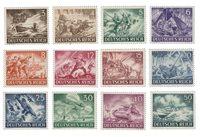 Empire Allemand - 1943 - Michel 831/842, neuf