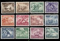 Impero Tedesco - 1943 - Michel 831/842, nuovo
