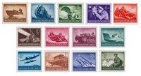 Deutsches Reich 1943 - Michel 873-85 - Postituore