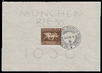 Impero Tedesco - 1936 - Michel Blocco 4, timbrato