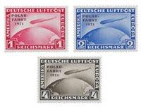 Tyske Rige 1931 - Michel 456-58 - Ubrugt