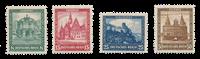 Tyske Rige 1931 - Michel 459-62 - Ubrugt