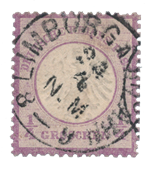 German Empire - 1872  - Michel 1, cancelled