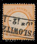 Tyske Rige 1872 - Michel 14 - Stemplet