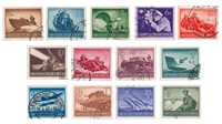 German Empire - 1944  - MICHEL 873/885 - Cancelled