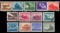 Impero Tedesco - 1944 - Michel 873/885, timbrato