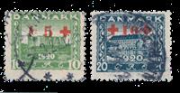 Danmark 1921 - AFA 120-21 - Stemplet