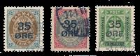 Danmark 1912 - AFA 60-62 - Stemplet