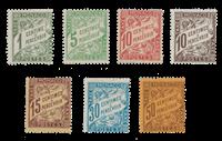 Monaco - 1905/1909 - YT Taxe 1/7, neuf