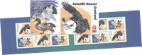 Greenland - EUROPA 2019 National birds - Mint booklet