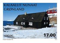 Groenland - Sepac, La maison de Poul Egede - Timbre neuf